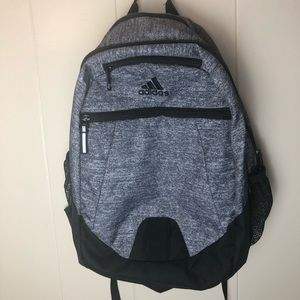 Adidas backpack gray and black